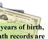 Birth Marriage Death Records